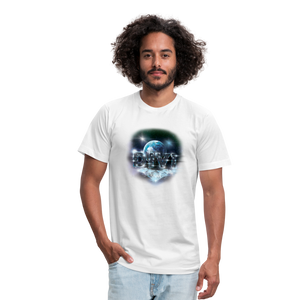 Divi Diamond Unisex Tee - white
