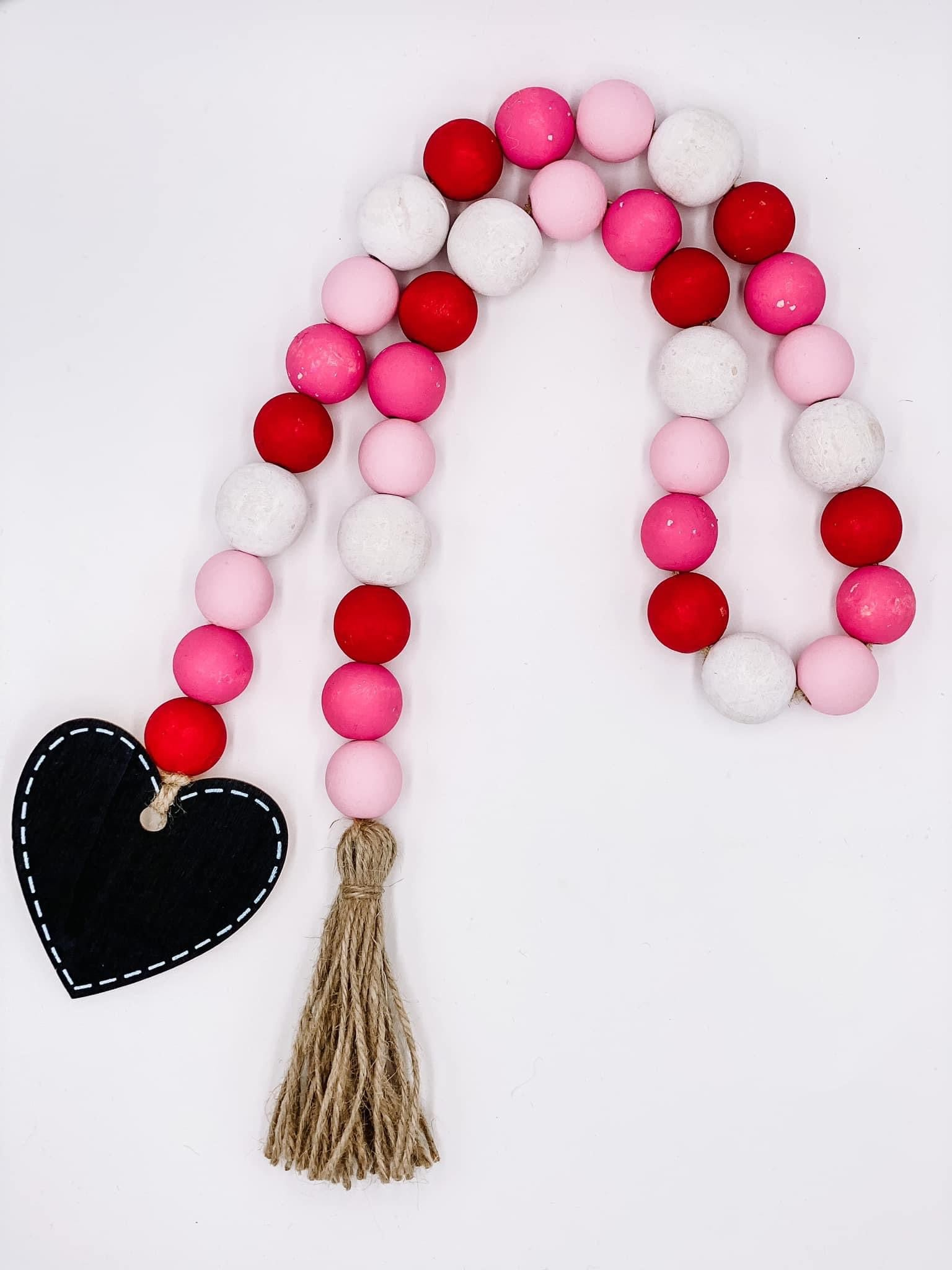 Valentine S Day Bead Garland Kelly Becktold Style
