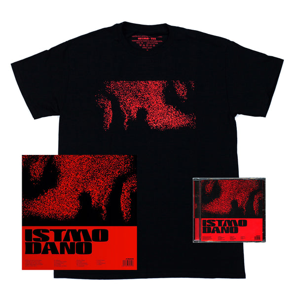 ISTMO Pack Tee + Vinilo + CD + Stickers