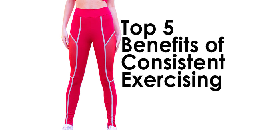 Top 5 Benefits of Consistent Exercising