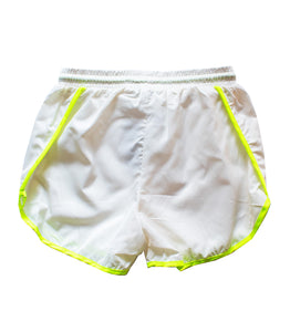 Force White Windbreaker Track Shorts
