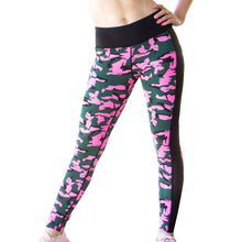 Load image into Gallery viewer, Pink Hunt Mesh Leggings