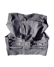 Load image into Gallery viewer, Charcoal Sports Bra Hoodie