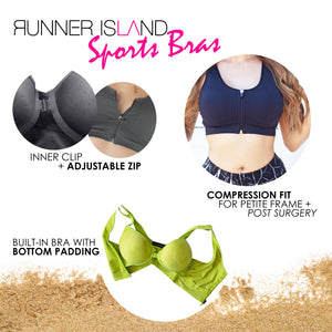 Black Give Me A Boost Sports Bra