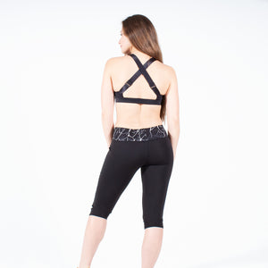 Lava Rock Capri Leggings