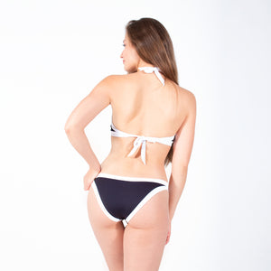Sporty Class Halter Swimsuit Set