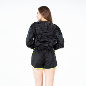 Dark Force Windbreaker Track Shorts