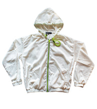 Load image into Gallery viewer, Force White Windbreaker Jacket
