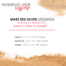 Load image into Gallery viewer, Mars Red Mesh Workout Leggings