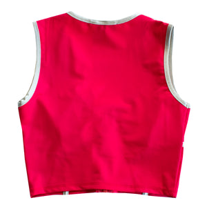Mars Red Workout Crop