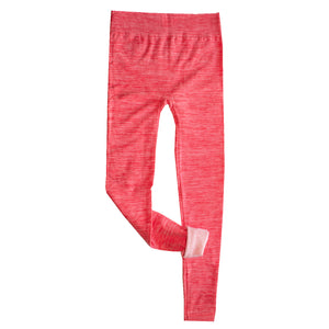 Coral Compression Fleece Lined Leggings