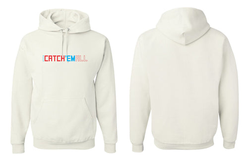 I Catch 'Em All Premium Hoodie - White