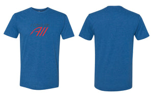 Catch 'Em All Premium Tee - Heather Blue