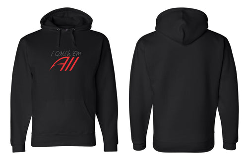 Catch 'Em All Premium Hoodie - Black