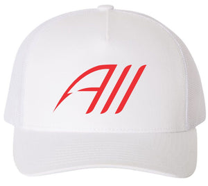 Catch Em All SnapBack Hat - White