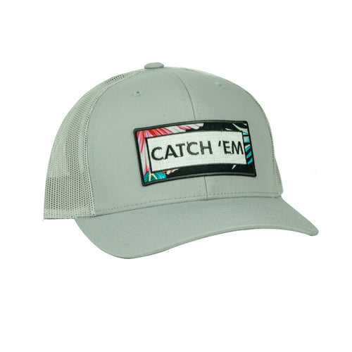 Catch Em SnapBack Hat - Gray