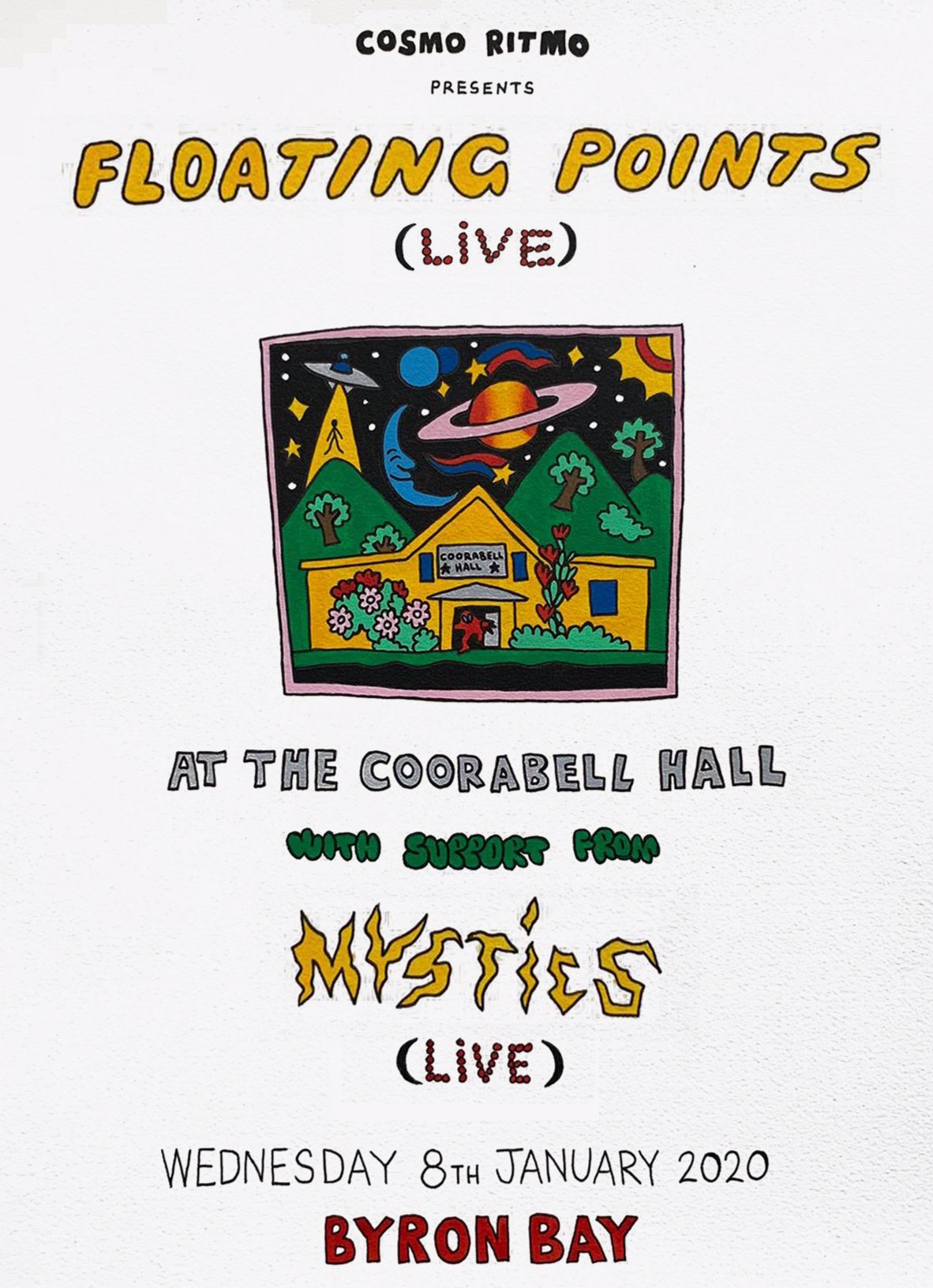 Floating Points (Live) at The Coorabell Hall