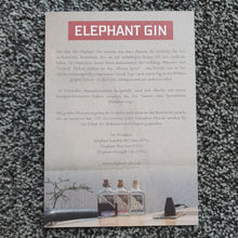 将图片加载到图库查看器,Elephant Gin Wildlife Warrior Edition 0,5l 40% vol. Flasche limitierte Edition
