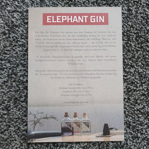 Elephant Gin Wildlife Warrior Edition 0,5l 40% vol. Flasche limitierte Edition