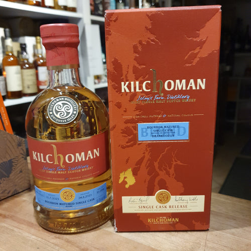 Kilchoman Whisky Blond Edition single cask scotch single malt whisky 0,7l 56,9 %