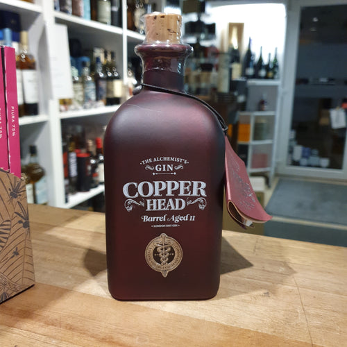 Copper Head Gin Edition Barrel Aged II 0,5l 46%