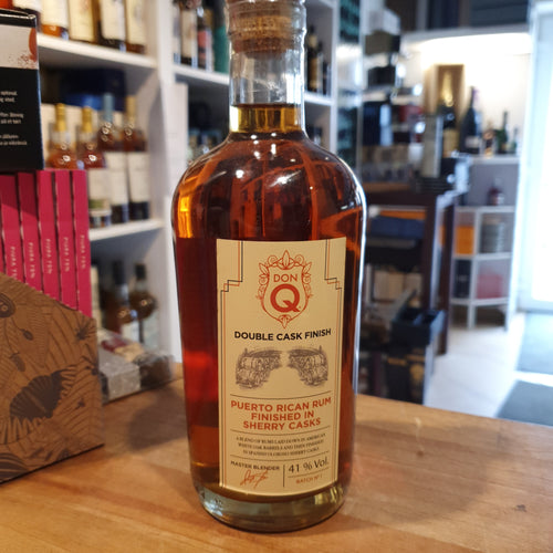 Don Q Rum Puerto Rican Rum sherry cask finished  0,7l 41% Puerto Rico