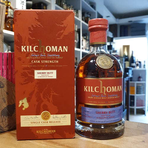 Kilchoman Whisky Sherry Butt 11 2007-08 2017 single cask scotch single malt whisky 0,7l 59,3% Oloroso sherry  selected by la maison du whisky