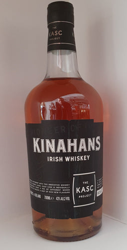 Kinahans Kasc Project Irish Whiskey 0,7l 43% vol.