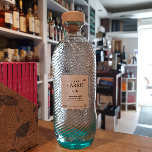 Isle of Harris scotch Gin 0,7l 45% vol. Flasche mit Algen outer hebrid sugar kelp