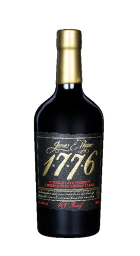 James pepper 1776 sherry cask 100 proof whiskey