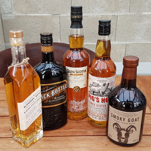 Scotch Whisky Set 5 verschiedene