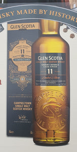 Glenscotia 11 Finish sherry PX Oloroso 0,7l 54,1 %vol.