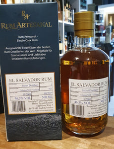 Ra Rum Artesanal single cask El Salvador 11 Jahre 0,5l 46,3% vol.