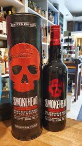 Smokehead Whisky Islay malt sherry bomb Edition barril almacenado 0,7 L 48%