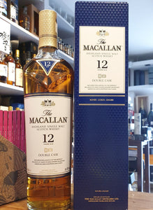 Macallan 12 double cask Highland single malt scotch whisky 0,7l Fl 40%vol.