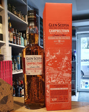 Load image into Gallery viewer, Glenscotia Whisky 10y Festival 2021 Edition 0,7l 56,1% vol. bordeaux cask