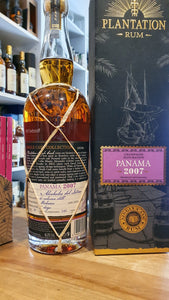 Plantation Rum Panama 13y 2007 2020 0,7l 46%vol. Champagne single cask Fassabfüllung Sonderedition limitiert
