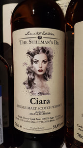 The Stillmans Whisky Ciara Allt a bhainne 0.7 54.8%