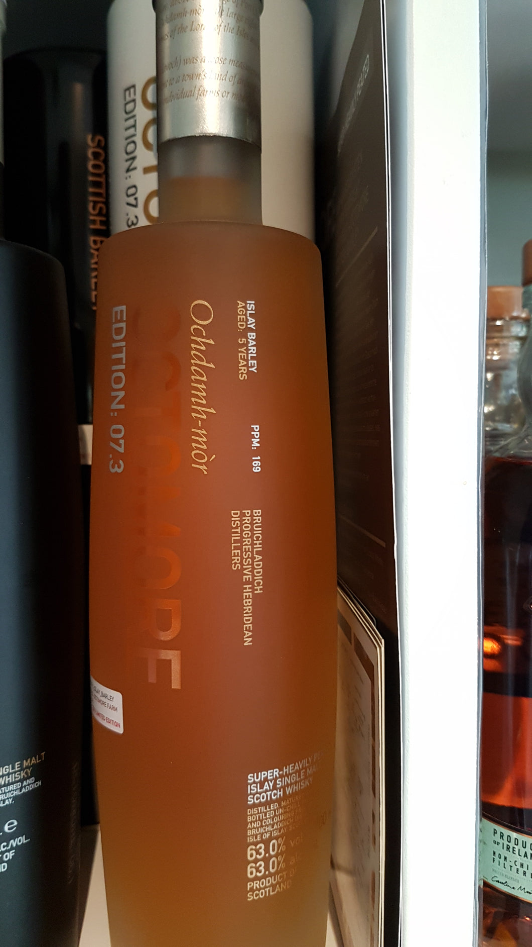 Octomore bruichladdich 07.3 Whisky 0.7 63% inn-out-shop