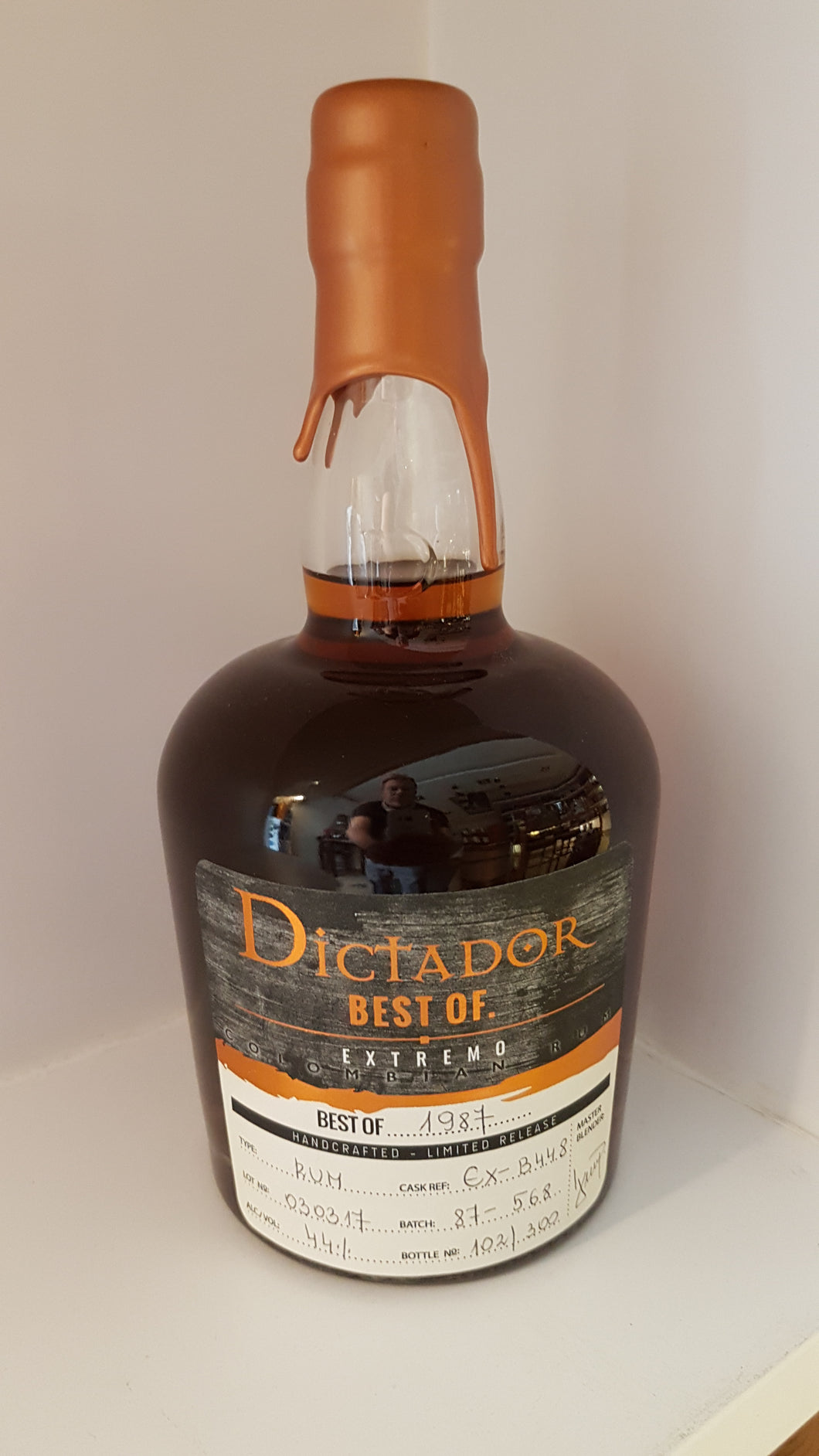 Dictador best of Rum 1987 Edition 0.7l 44%