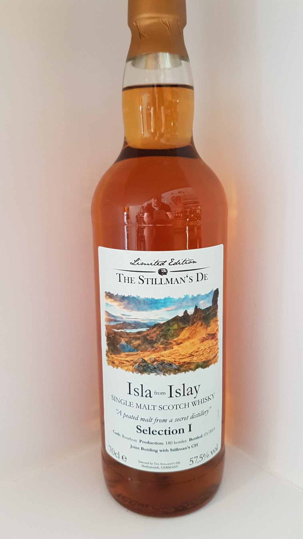 The Stillmans Whisky Isla from Islay Fassabfüllung in Fassstärke  Lag 0.7 57.5%