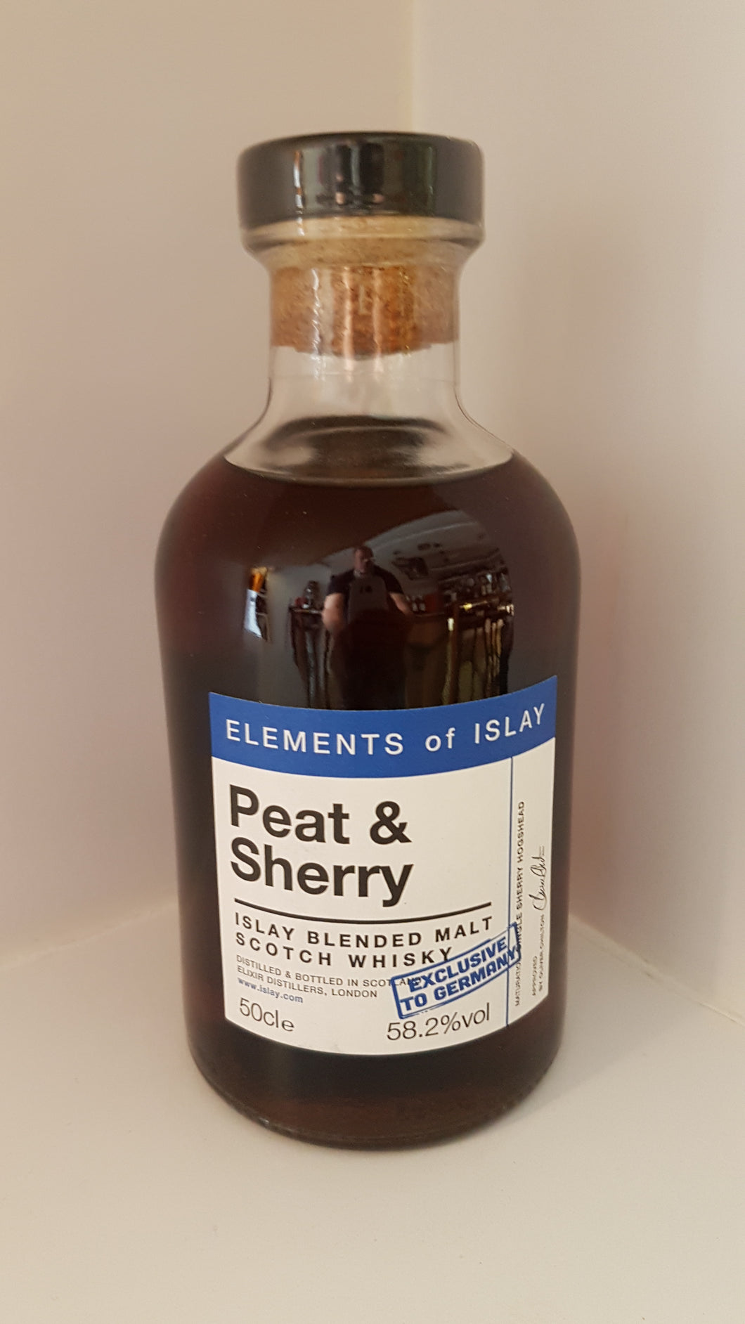 Elements of islay Peat & sherry Islay blend scotch whisky 0.5l 58.2 %