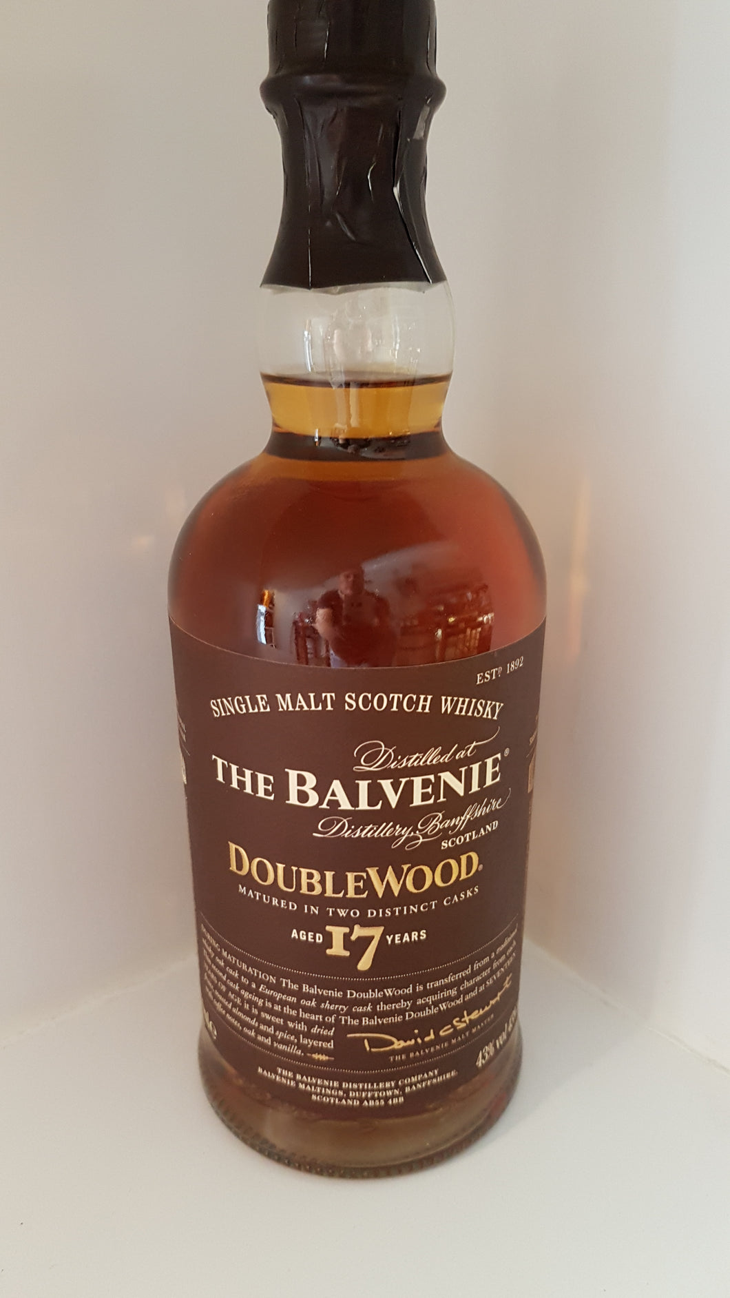 The Balvenie DoubleWood 17 Jahre 0,7l 43% Inn-out-shop