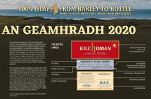 将图片加载到图库查看器,Kilchoman Whisky Uniquely Islay Series 2020 single cask #212 PX 0,7l 56,3 %vol.