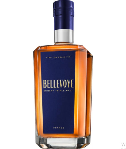 Bellevoye Grand Whisky blau triple blue malt france  0.7l Fl 40% Frankreich Tourbe