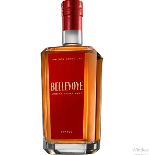 Bellevoye Grand Whisky red triple malt france  0.7l Fl 43% Frankreich Tourbe