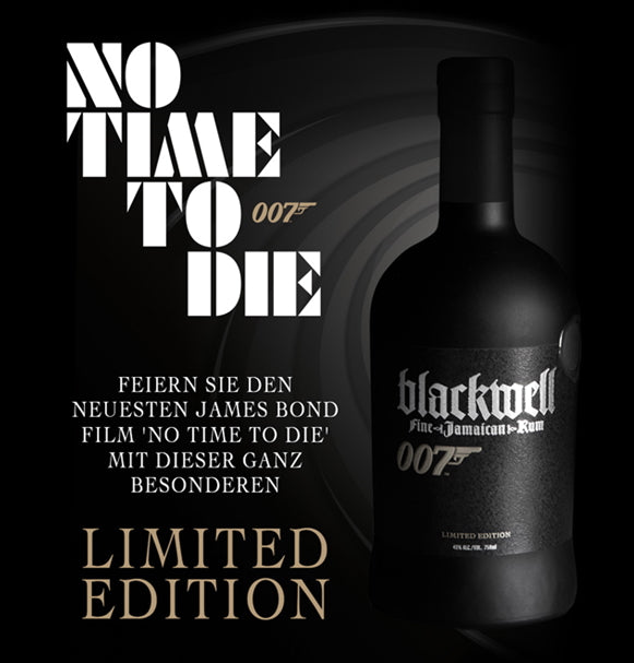 Blackwell Jamaica Rum Limited Edition 007 No time to die  43 % 0,7l