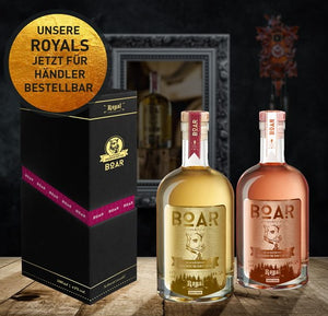 Boar Royal Gin WHITE Limited Edition 2020 0.5l 43% bouteille édition limitée baril stocké