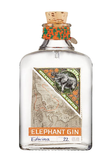 Elephant Gin Orange und Cocao Edition 0,5l 40% vol. Flasche limitierte Edition.