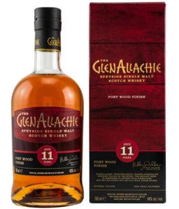 The GlenAllachie 11 Y Port Wood finish 48% vol. 0,7l Single Malt Scotch Whisky.
